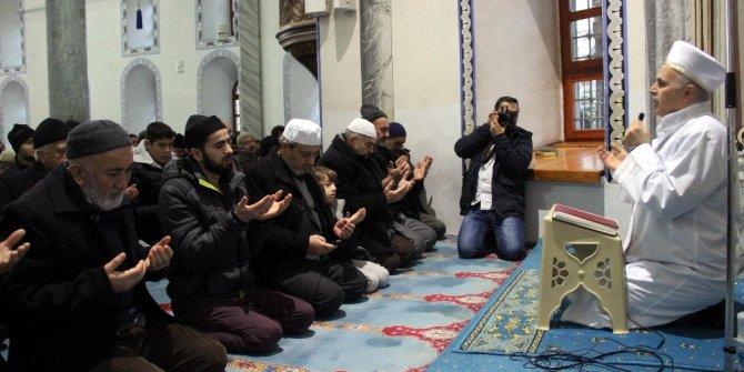 Kütahya Ulu Camii'nde zafer duası