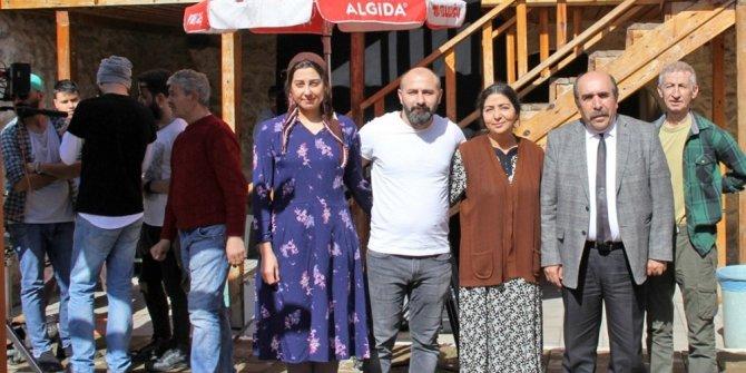 Kozanlı yazarın kısa filmi baba ocağında çekiliyor