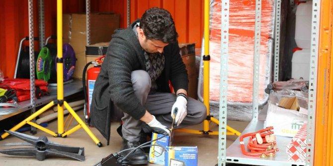 Bayraklı Belediyesi deprem konteyneri sayısını 7'ye çıkardı