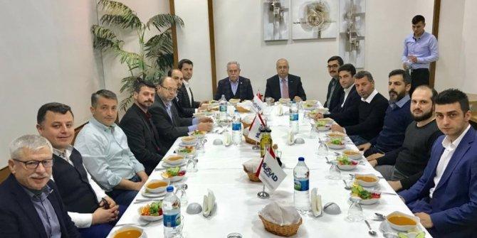 MÜSİAD Manisa Şubesi Milletvekili Berber'le istişare toplantısı yaptı