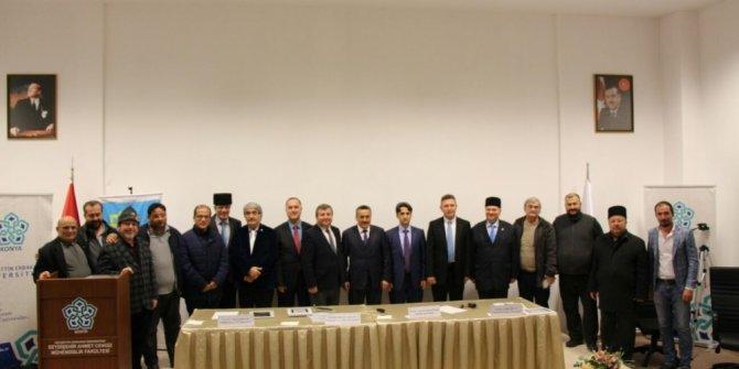 Seydişehir'de 'Kırım Kırım Kırılan Kırım' paneli düzenlendi