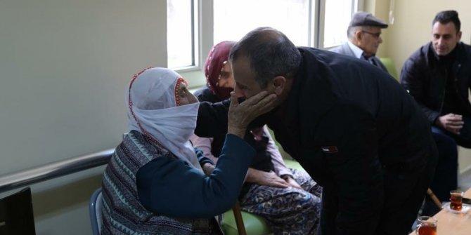 Vali Sonel, huzur evi ve rehabilitasyon merkezini ziyaret etti