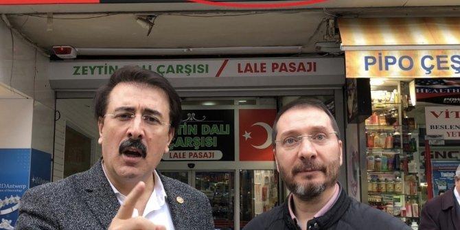 Milletvekili Aydemir esnafın tepkisine ortak oldu