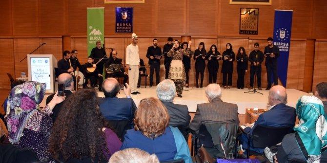Kadınlar günü programında kahraman Türk kadınları şiirlerle anıldı