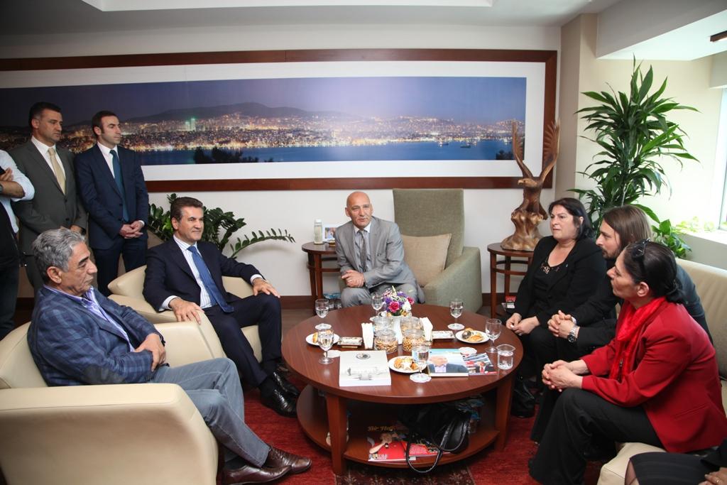 Mustafa Sarıgül'den Kartal Belediye Başkanına Ziyaret