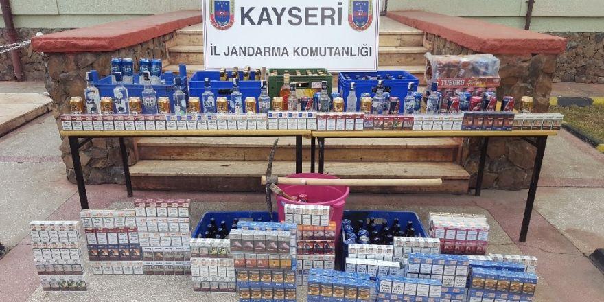 Marketlerden sigara ve alkol çalan 3 kişi yakalandı
