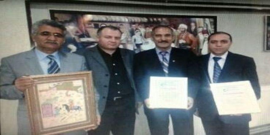 BDM'den ASİMDER'e teşekkür belgesi
