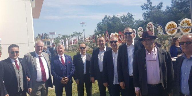 KUTO yönetimi, AYTO'nun yeni hizmet binası açılış törenine katıldı