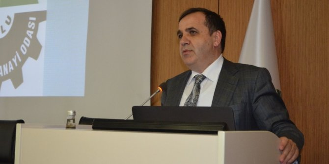 "Bolu TSO Başkanı Ateş: ""Bolu ihracatta hedefleri olan bir il"""