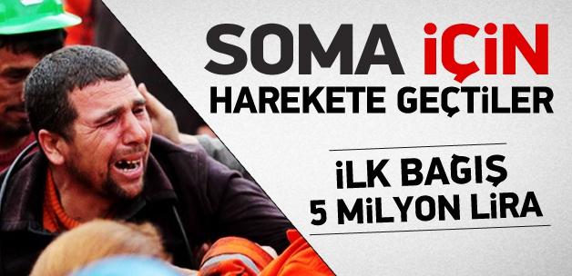 İş dünyası Soma için harekete geçti