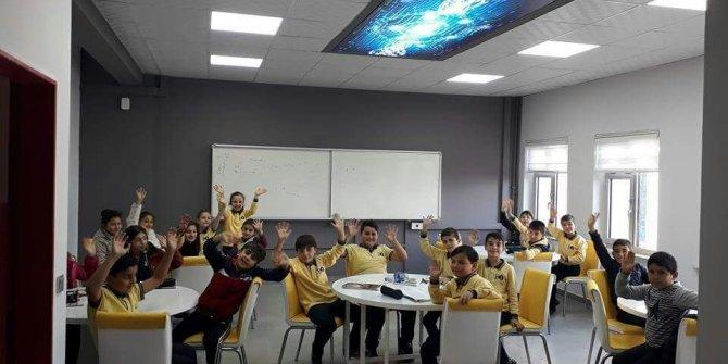 Avrupa okul ağları programında Fatsalı okul yer aldı