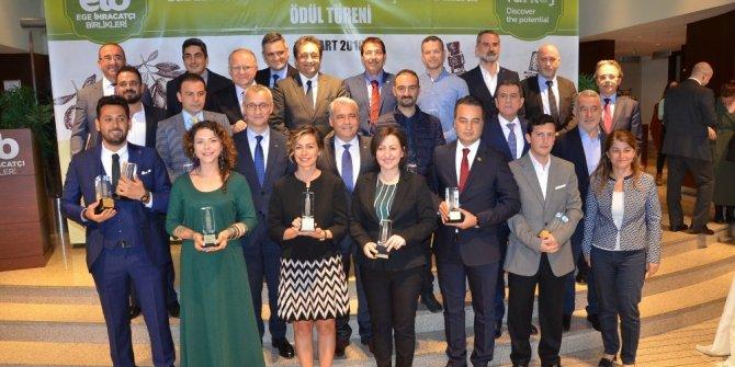 Zeytin ve zeytinyağı ihracat şampiyonlarına ödül