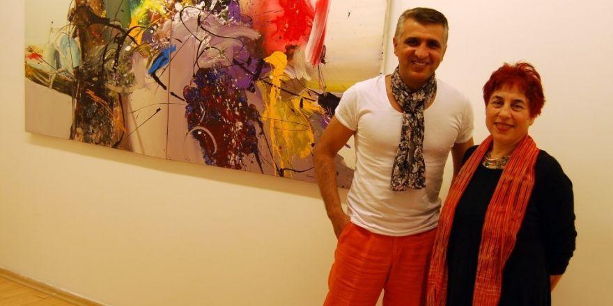 Ressam Orhan Cebrailoğlu'nun sergisi