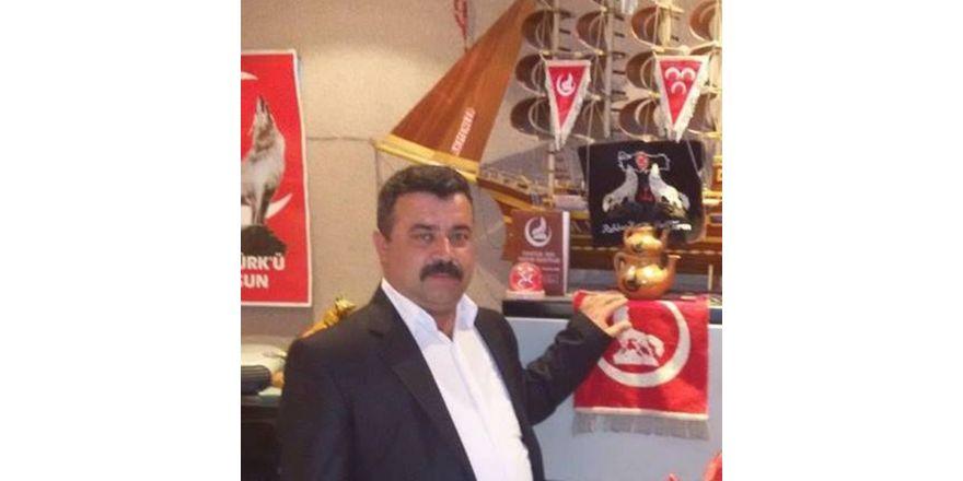 MHP Mut İlçe Başkanı Alparslan Savaş Kır oldu
