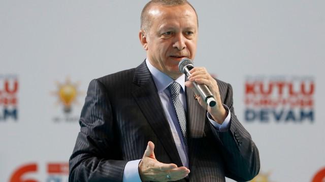 Cumhurbaşkanı : Artık An Meselesi Afrin'e Girdik