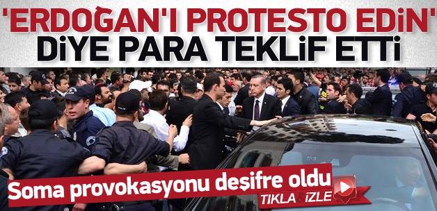 Erdoğan'ı protesto için para teklif etti
