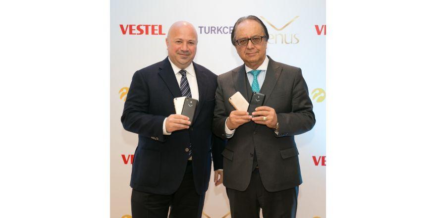 Vestel, Turkcell için özel ürettiği telefonu tanıttı