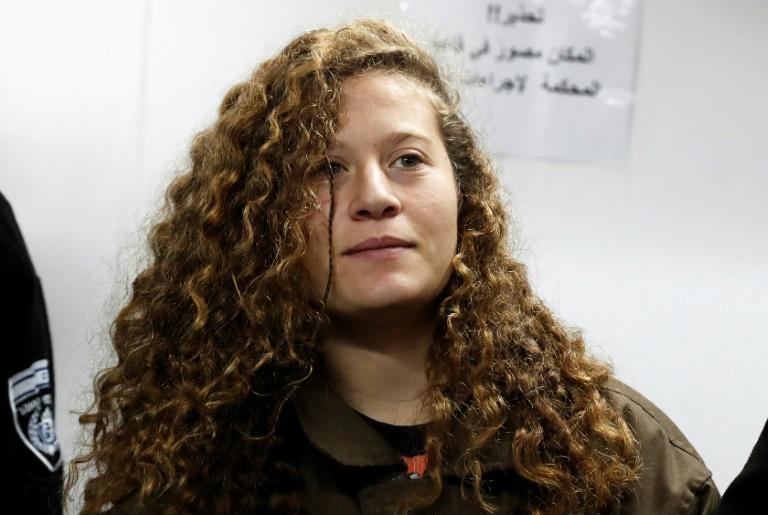 Filistinli Ahed Tamimi'nin Hapis Cezası Belli Oldu