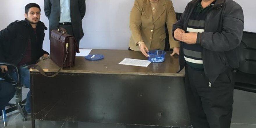Sincik ilçesinde TYP kurası çekilişi yapıldı