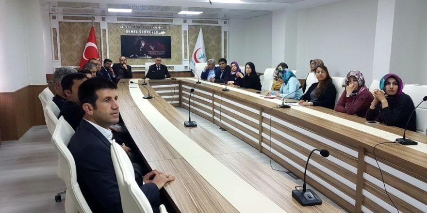 KHB Genel Sekreterlik çalışanlarına eğitim verildi