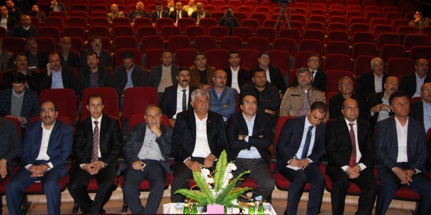 Kahta'da Bölgesel Teşvik Uygulamaları ve İstihdam Seferberliği toplantısı yapıldı