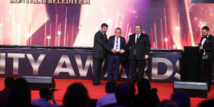 Konyaaltı Belediyesine Golden City Awards'tan ödül