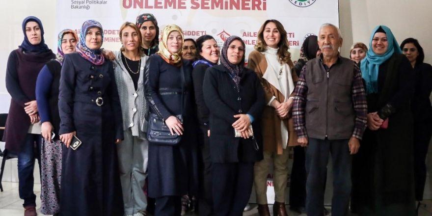 Kepez'de aile seminerleri