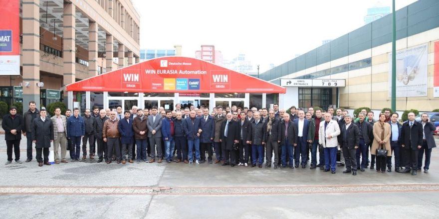 KAYSO Endüstriyel Otomasyon Fuarına 80 sanayici ile çıkarma yaptı