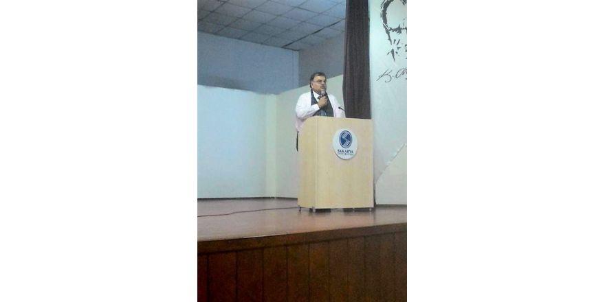 SAÜ'de 'Coğrafya Şuuru' konferansı