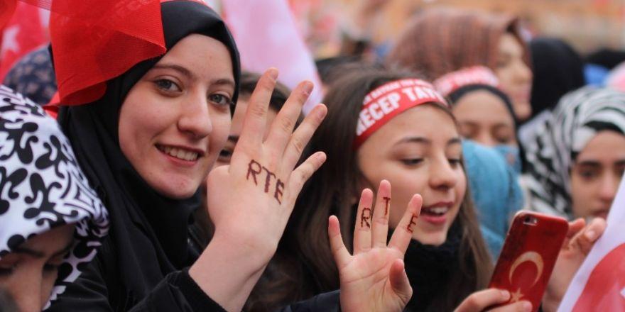 Eskişehirli kadınların Erdoğan sevgisi