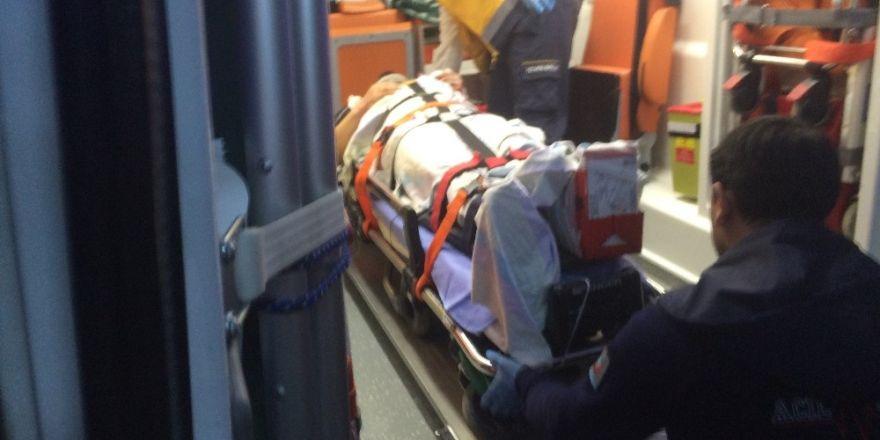 Konya'da yük asansörü halatı koptu: 1 yaralı