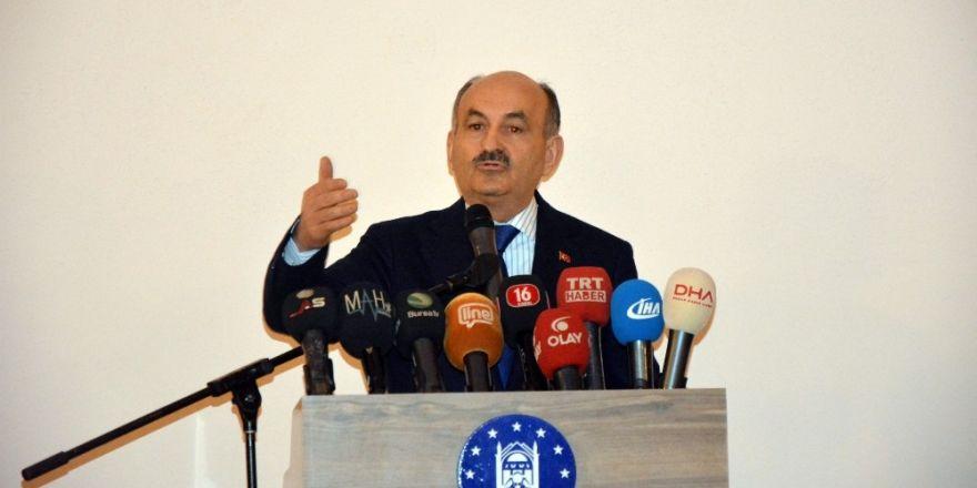 Çalışma ve Sosyal Güvenlik Bakanı Mehmet Müezzinoğlu: