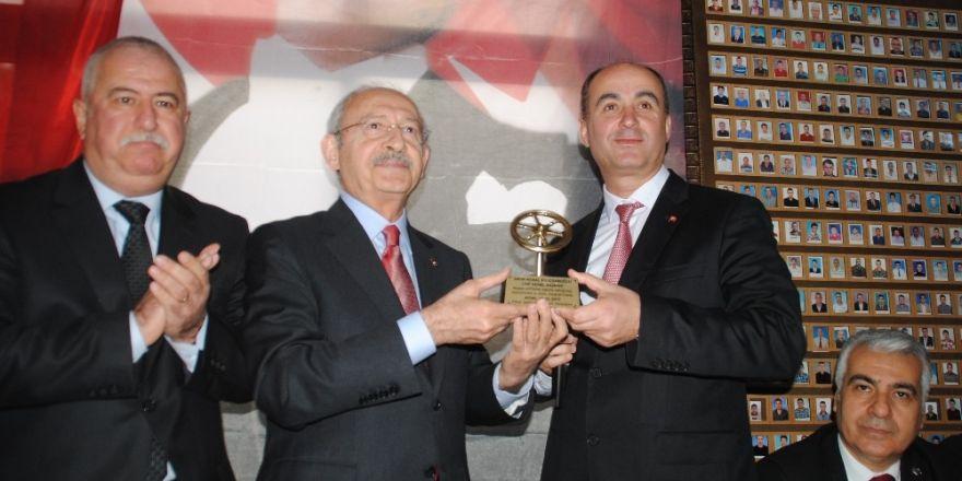 Kılıçdaroğlu, Aydın'lı şoförlerle bir araya geldi