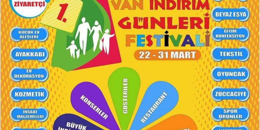 Van'da İndirim Günleri Festivali