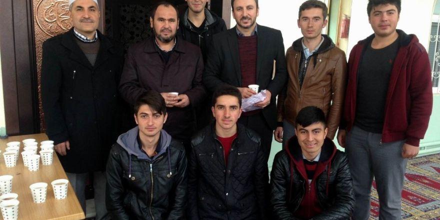 Sorgun'da öğrenciler Çanakkale Şehitleri için Mevlit okuttu