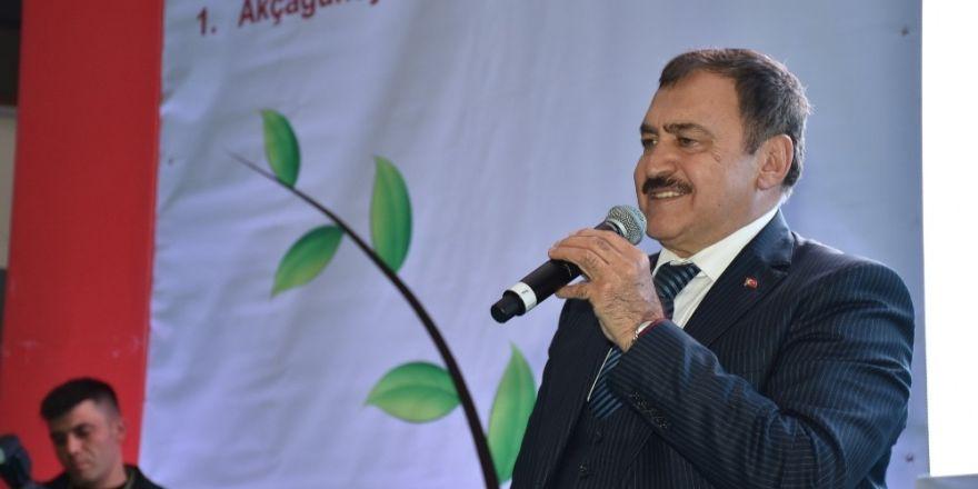 Bakan Eroğlu ORKÖY sertifikalarını dağıttı