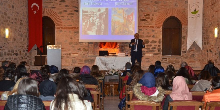 "Osmangazi'de ""Çanakkale"" konferansı"