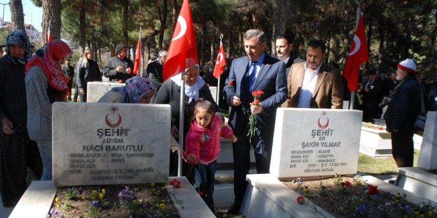 Burdur'da Çanakkale Şehitleri anıldı