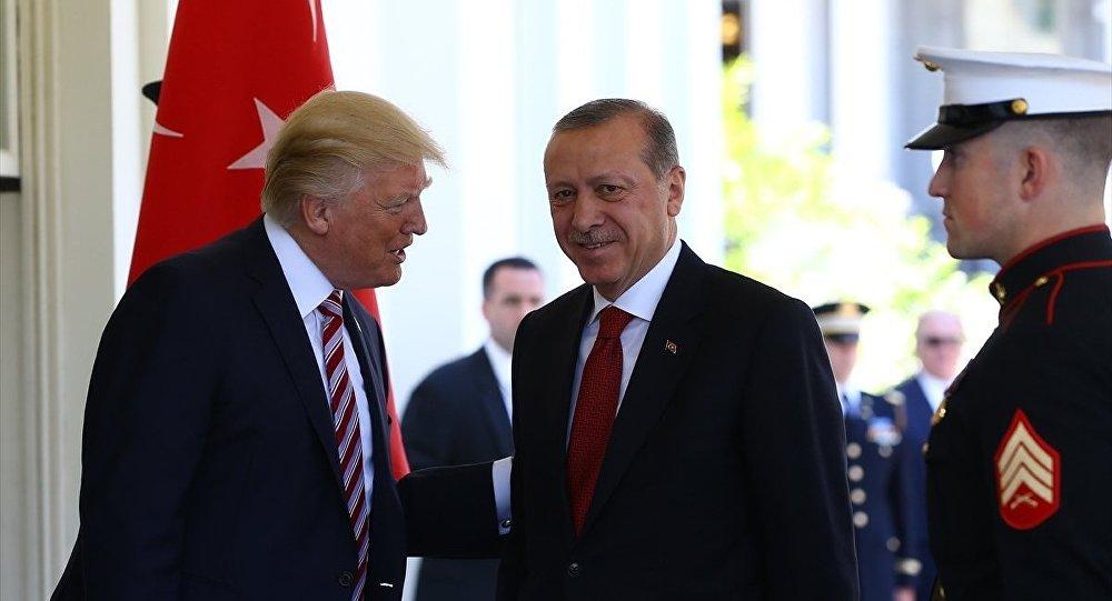 Cumhurbaşkanı Erdoğan ile ABD Başkanı Donald Trump bu gece telefonla görüştü