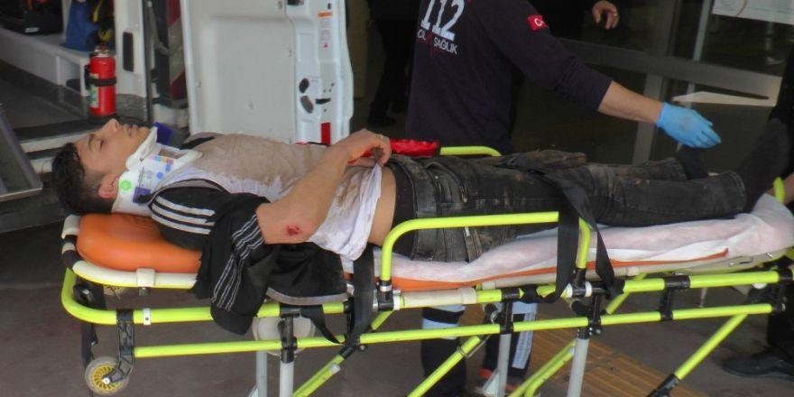 Şanlıurfa'da motosiklet kazası: 1'i ağır, 2 yaralı