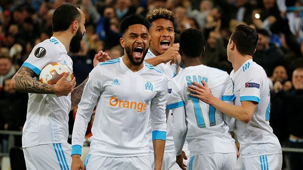 Marsilya rövanş maçında Leipzig'i 5-2 yenerek yarı finale yükseldi