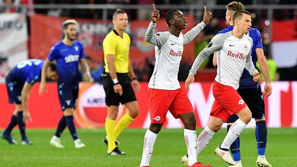 Salzburg 4-2'nin rövanşında Lazio'yu  4-1 Mağlup ederek yarı finale yükseldi
