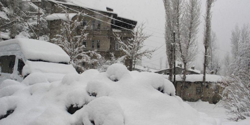 Hakkari'de 18 köy ile 53 mezra yolu kapandı