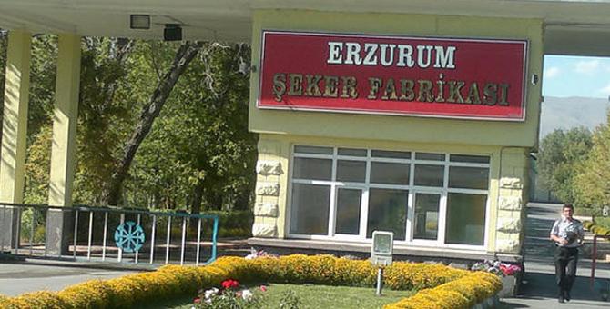 Erzurum Şeker Fabrikası Satışında Teklif Veren Olmadı, Firmalar Masadan Kalktı