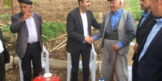Başkan Bedirhanoğlu vatandaşlarla bir araya geldi