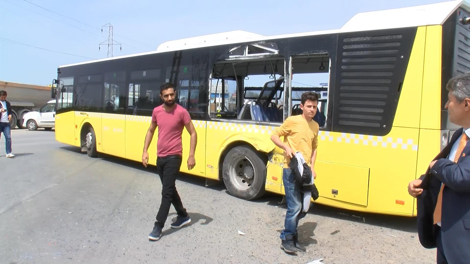 Hafriyat Kamyonu İETT Otobüsü İle Çarpıştı Çok Sayıda Yaralı Var