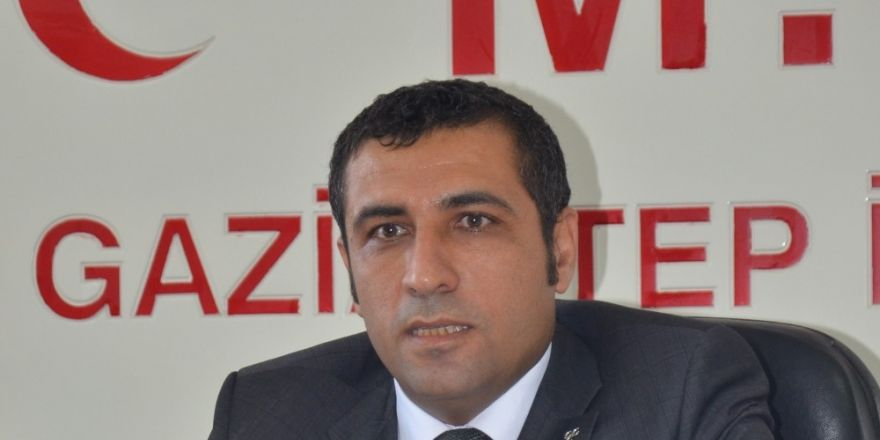 MHP Gaziantep İl Başkanı Yrd Doç. Dr. Ali Muhittin Taşdoğan: