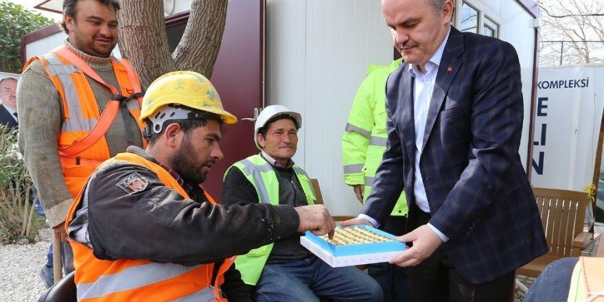 Pamukkale Belediyesi sağlık kompleksi yükseliyor