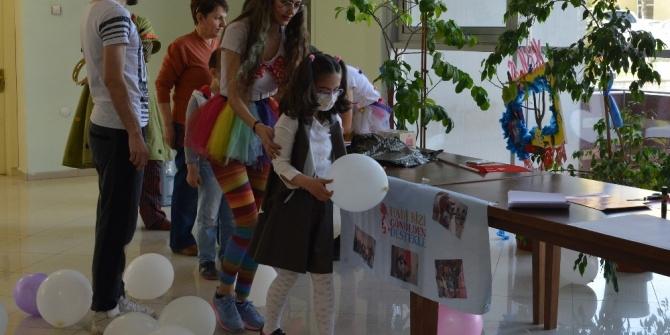 Lösemili çocuklar 23 Nisan'ı kutladı