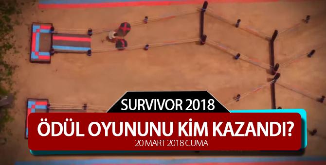 Survivor'da 50. Bölüm Ödül Oyununu Kim Kazandı? 20 Nisan 2018 Cuma